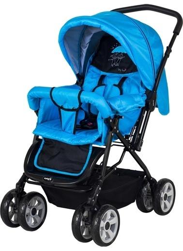 Crystal Baby Crystal Baby 212 Mega Bebek Arabası  Mavi